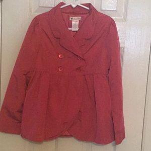 Gymboree Berry Rose Pea Coat